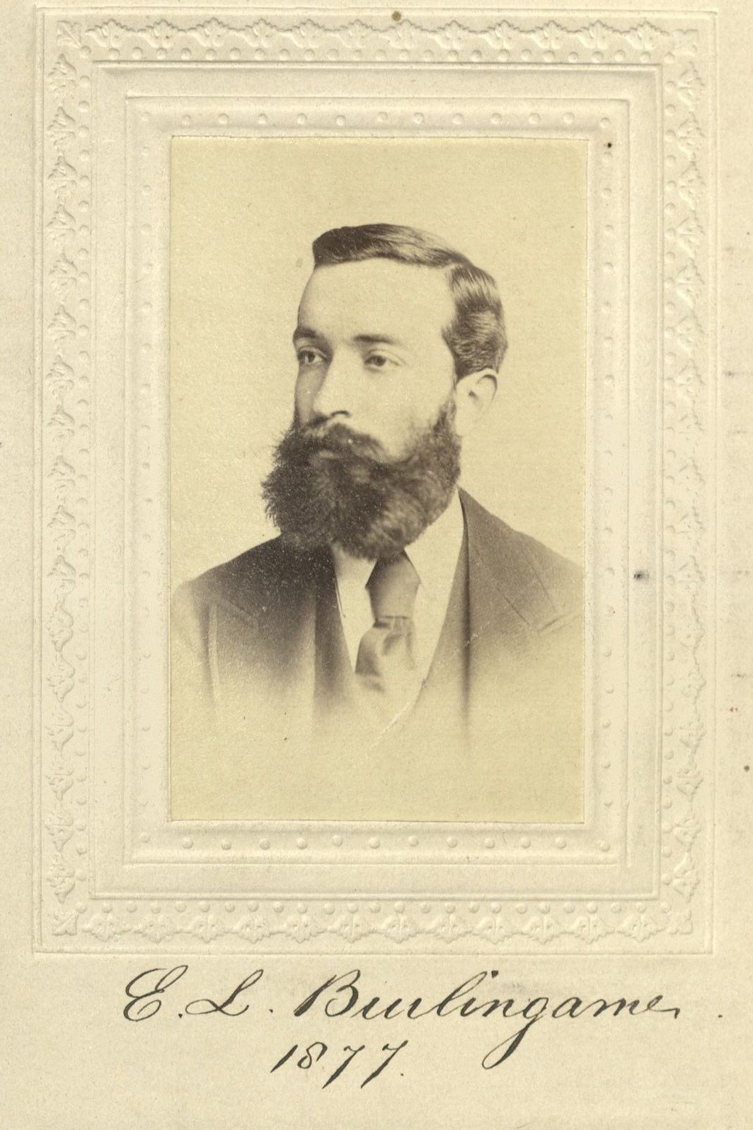 Member portrait of Edward L. Burlingame
