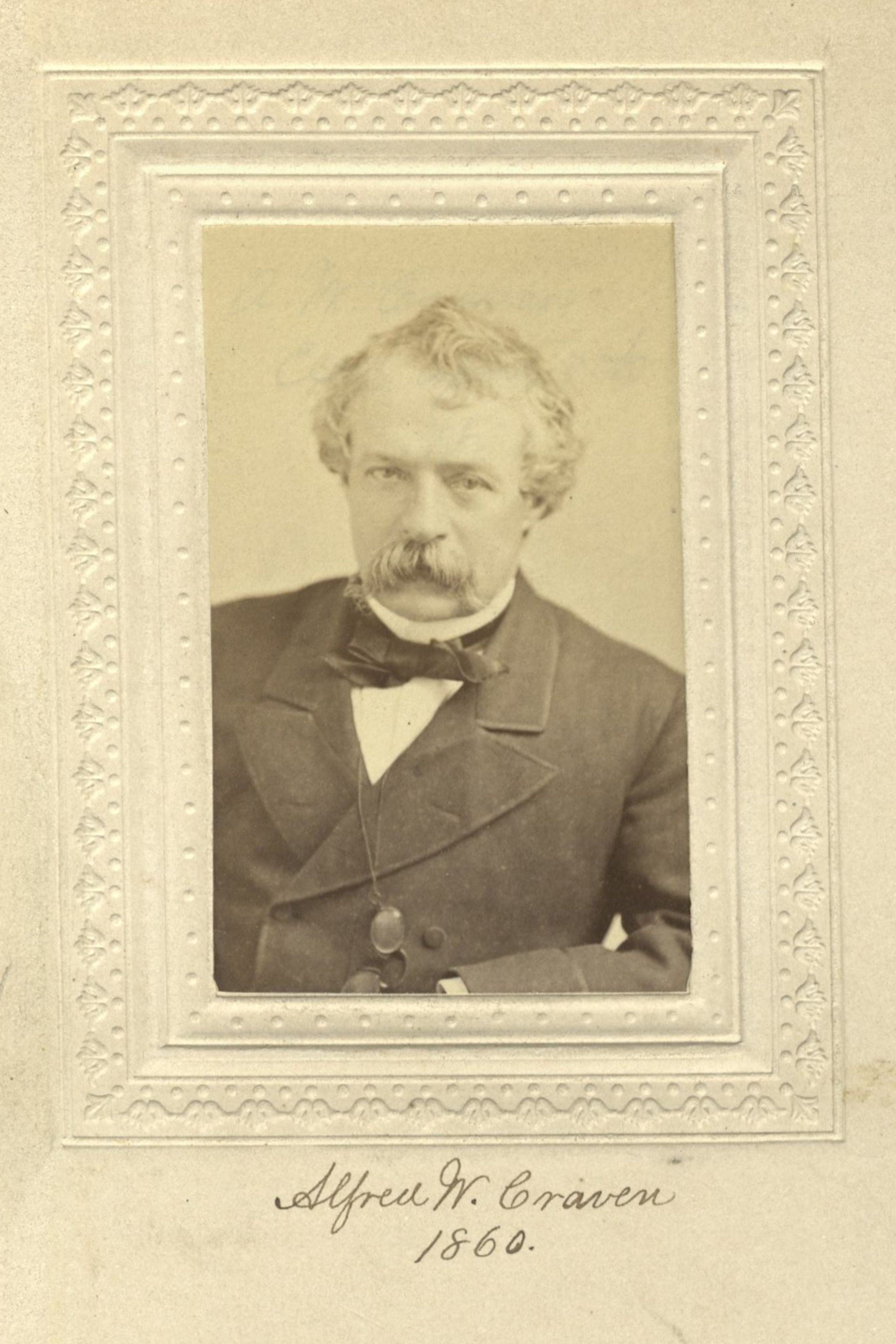 Member portrait of Alfred W. Craven