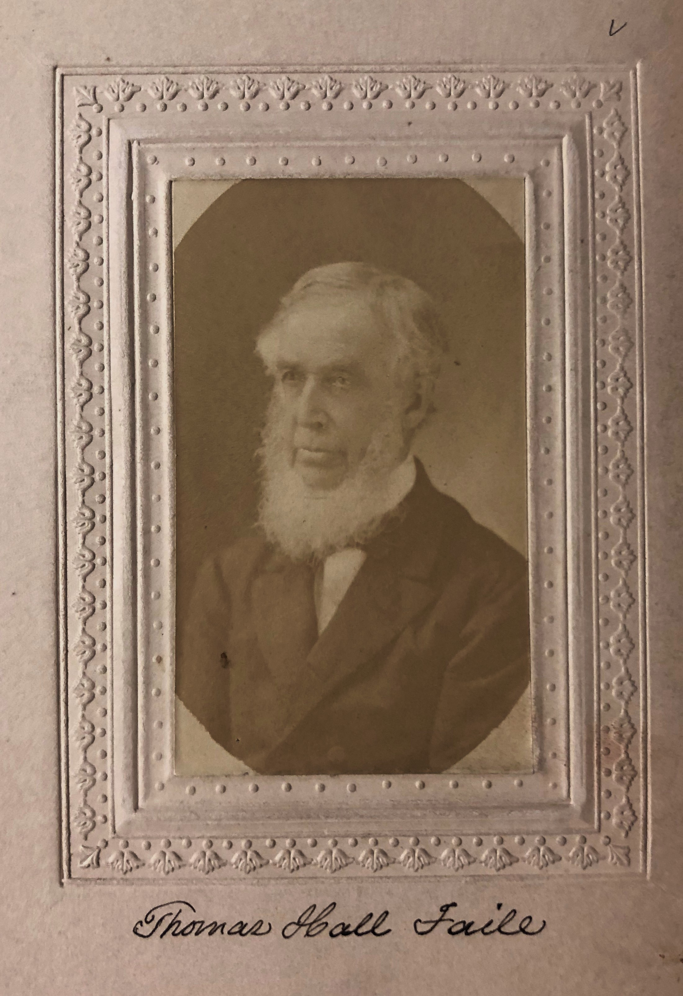 Member portrait of Thomas H. Faile