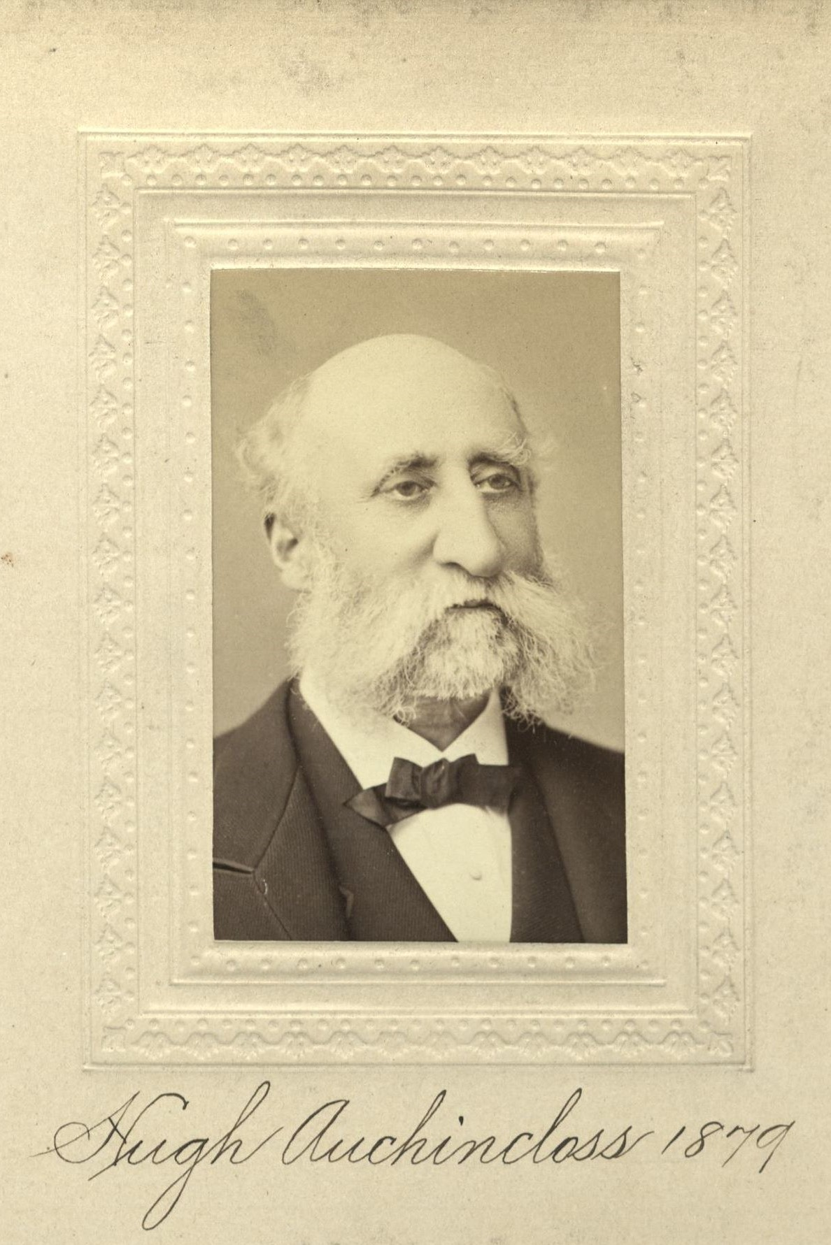 Member portrait of Hugh Auchincloss