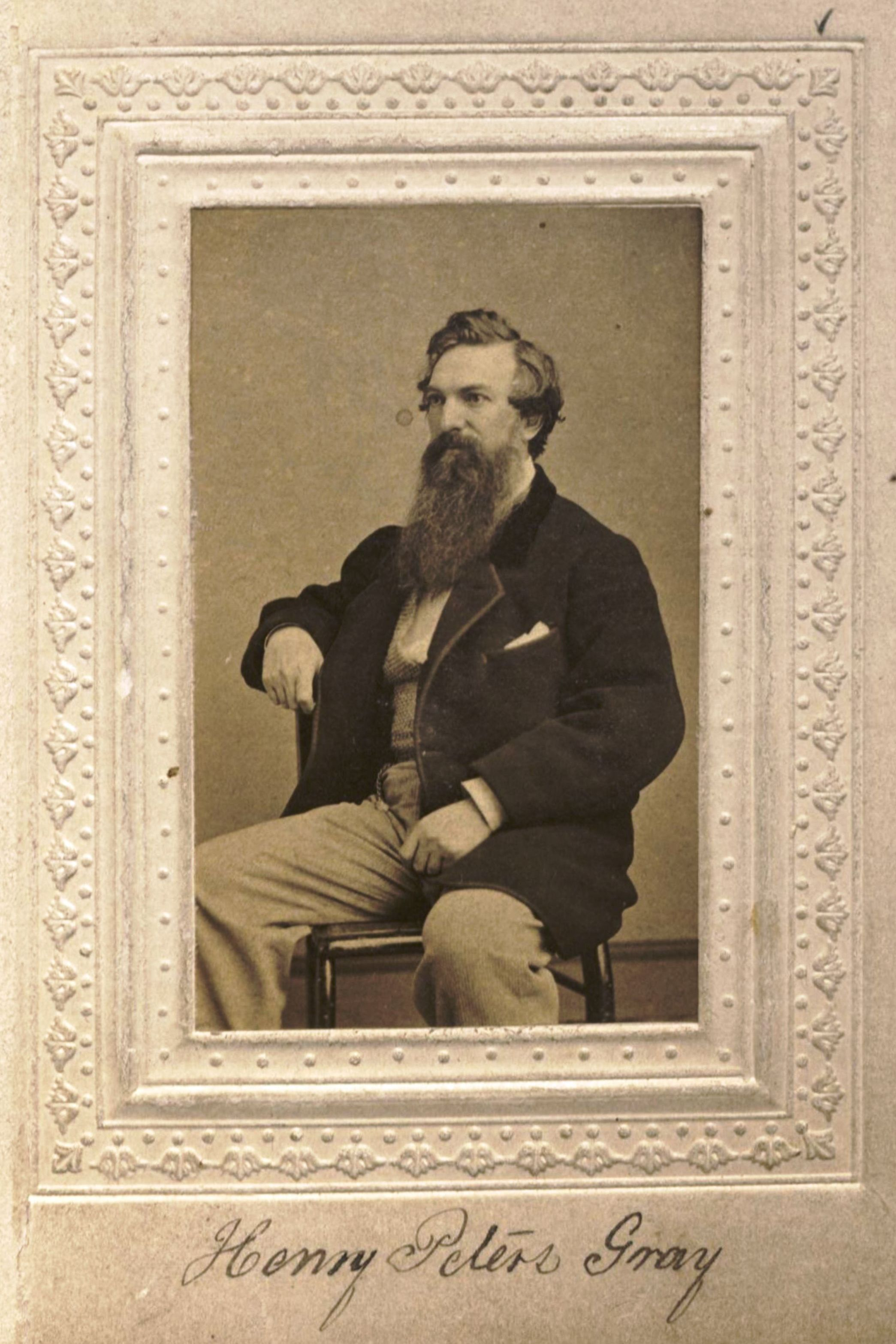 Member portrait of Henry Peters Gray
