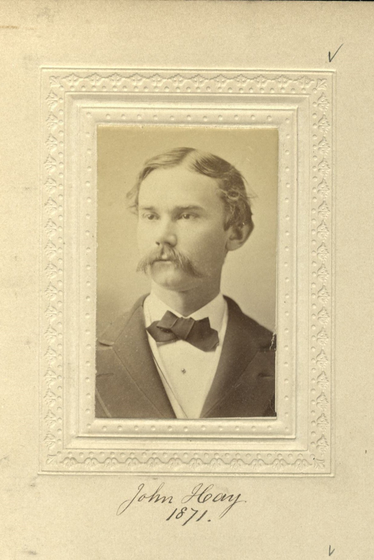 Member portrait of John Hay