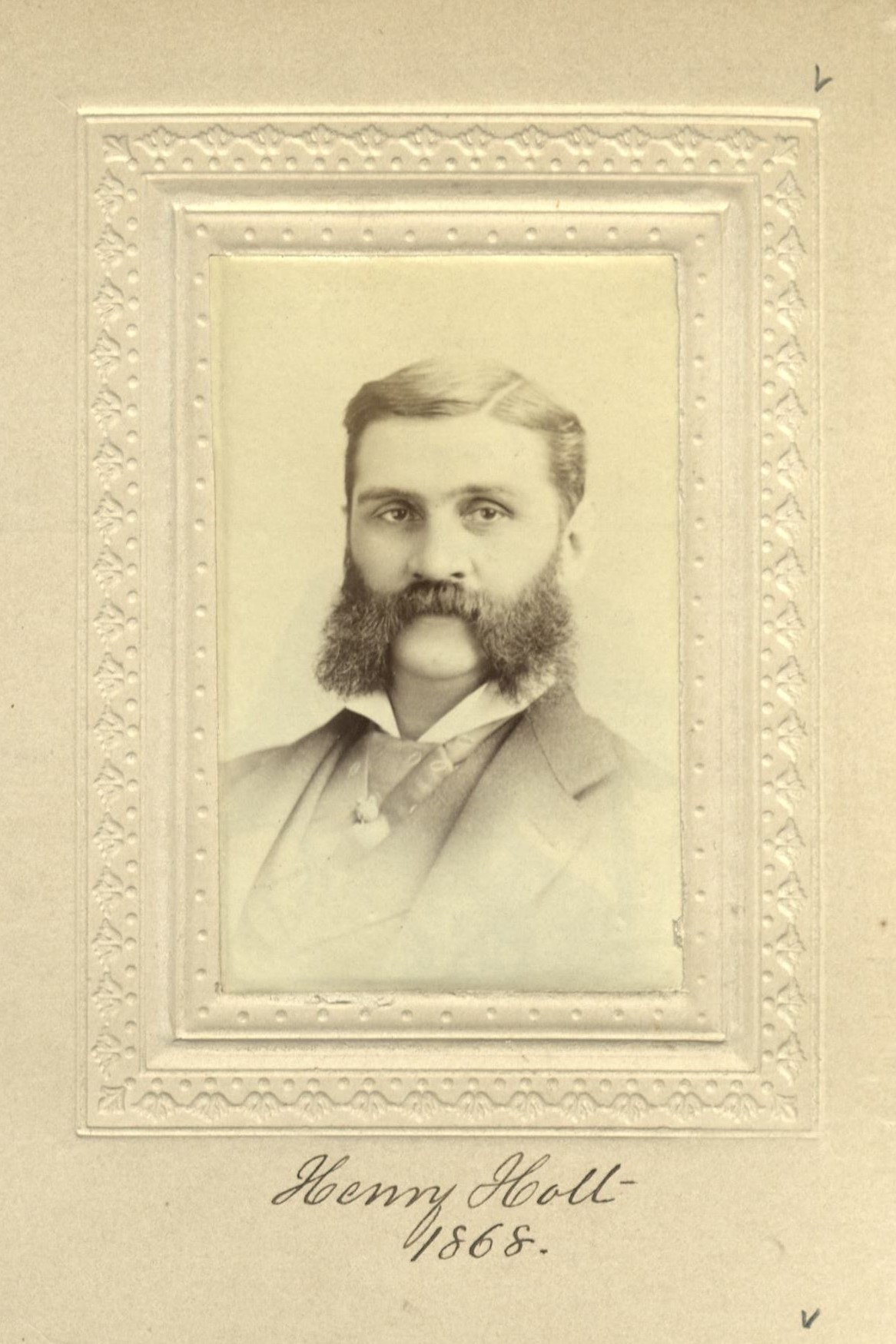 Member portrait of Henry Holt