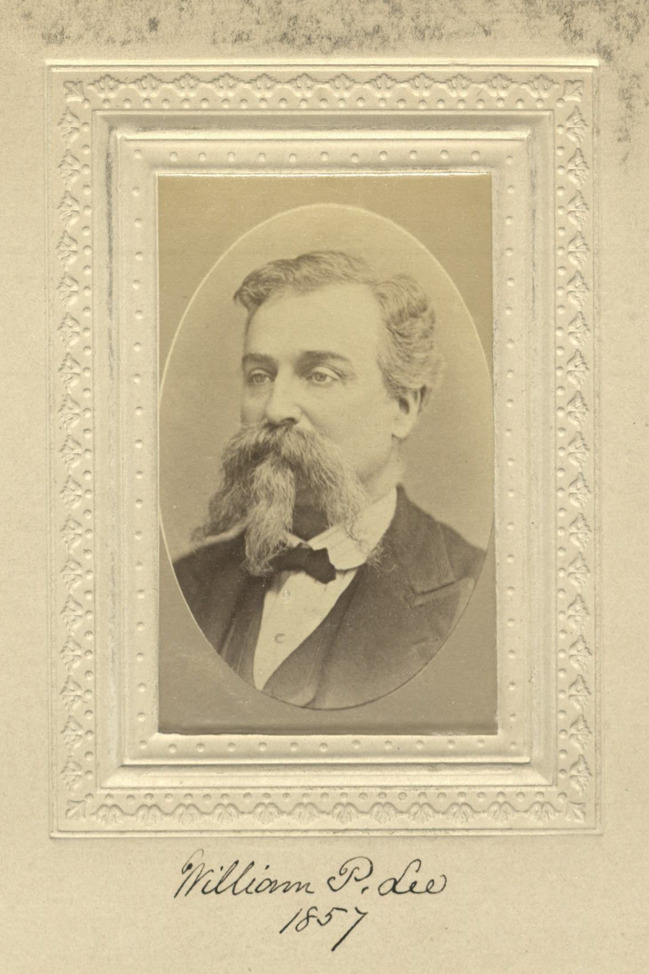 Member portrait of William P. Lee
