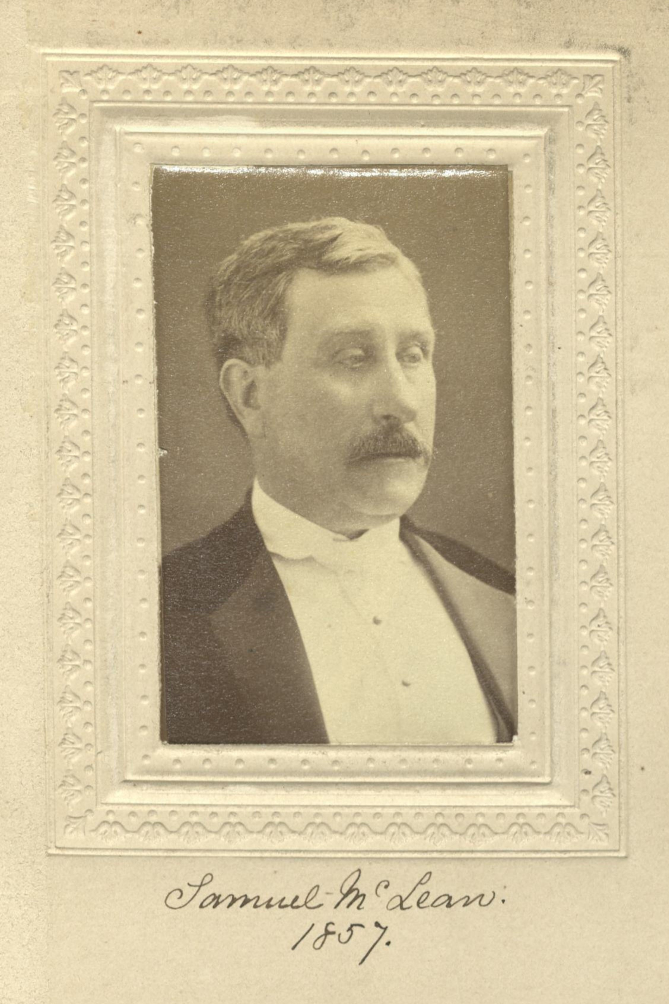 Member portrait of Samuel McLean