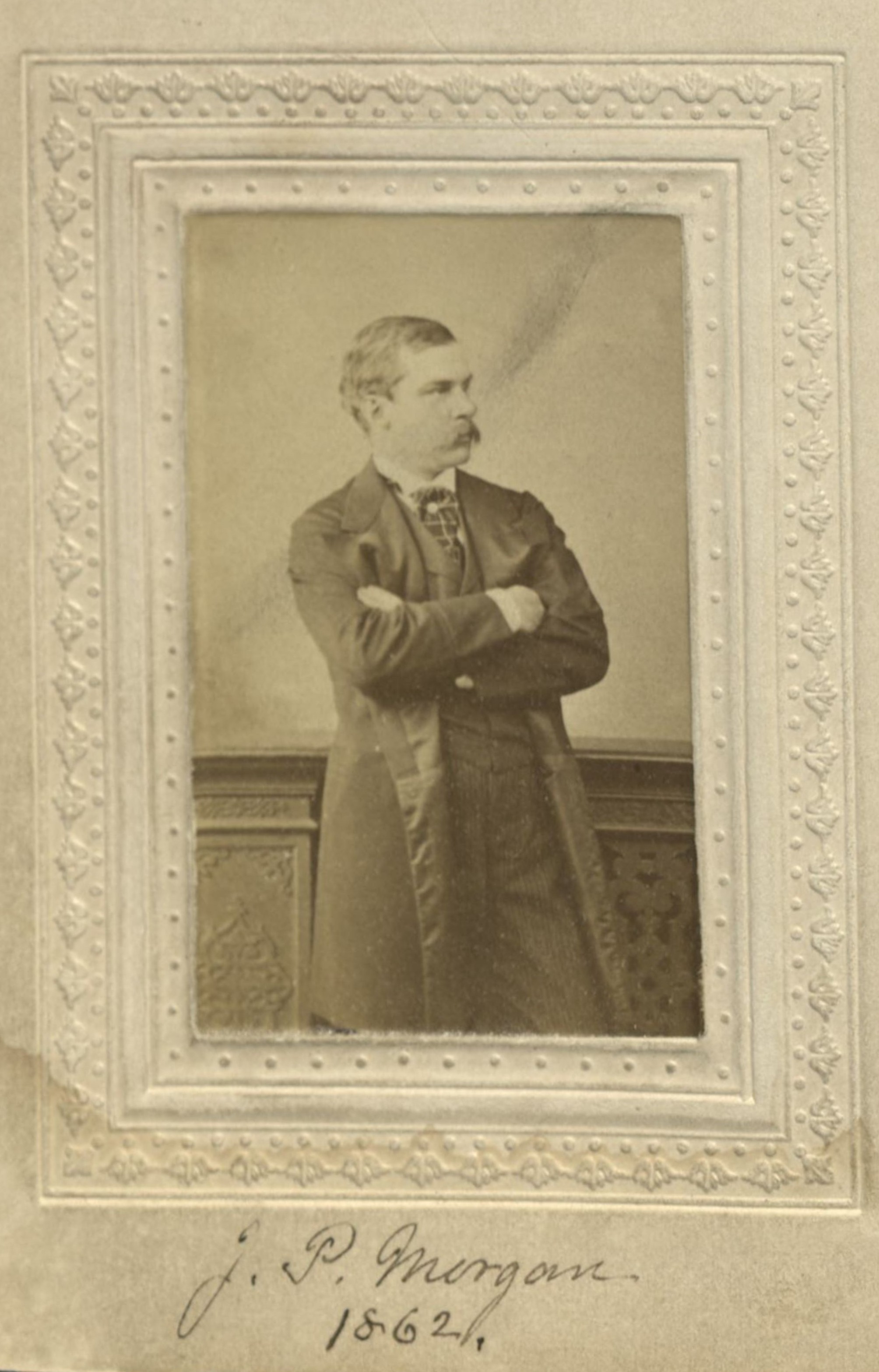 Member portrait of J. Pierpont Morgan