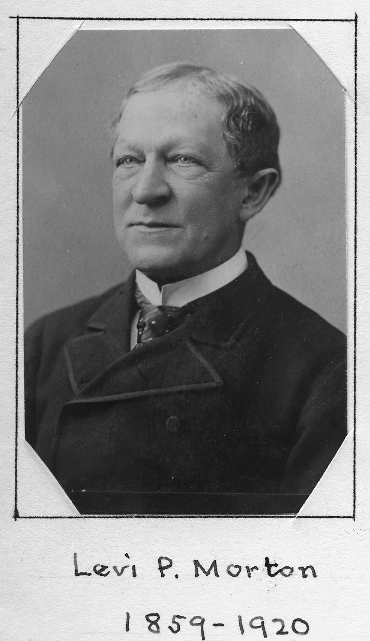 Member portrait of Levi Parsons Morton