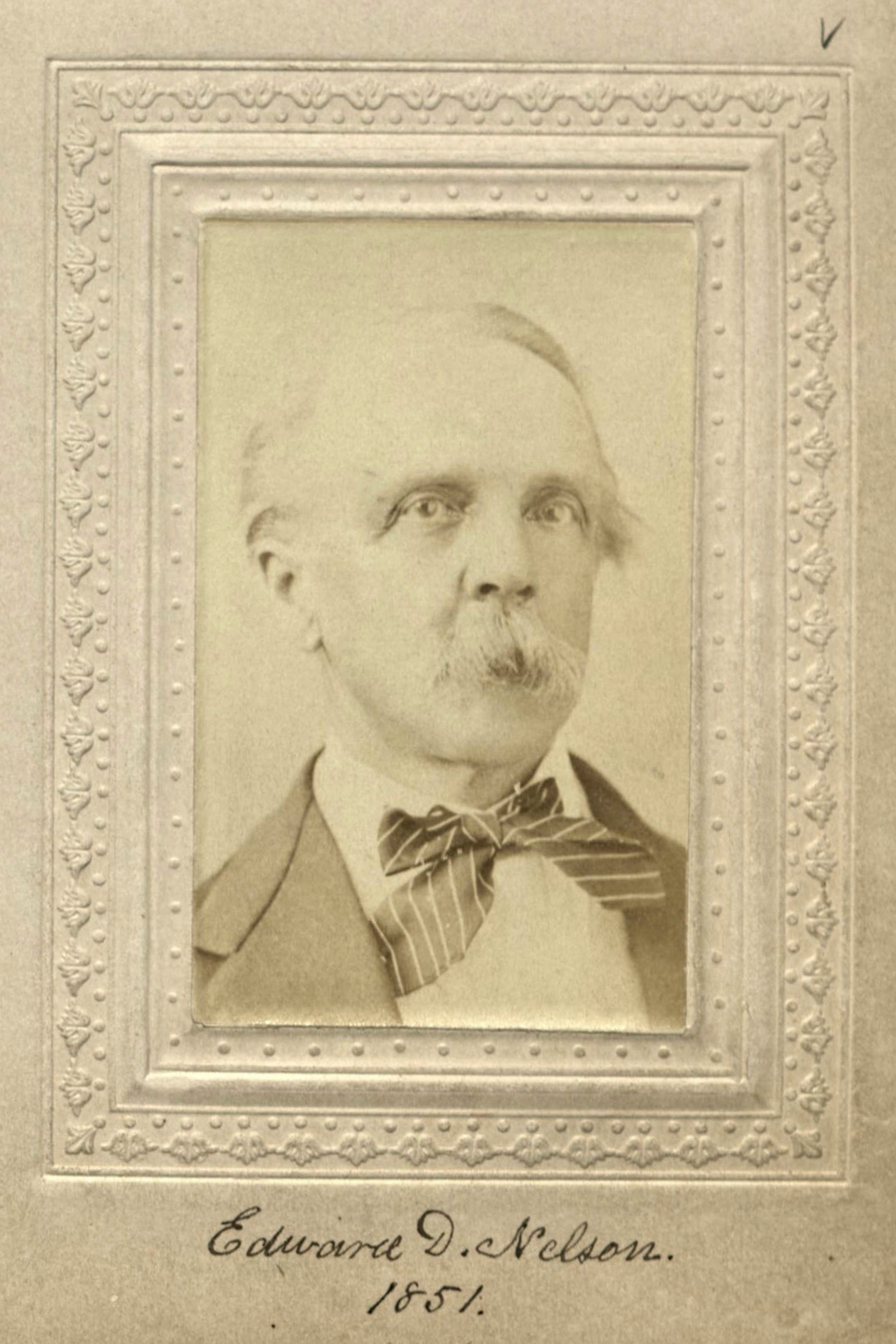 Member portrait of Edward D. Nelson