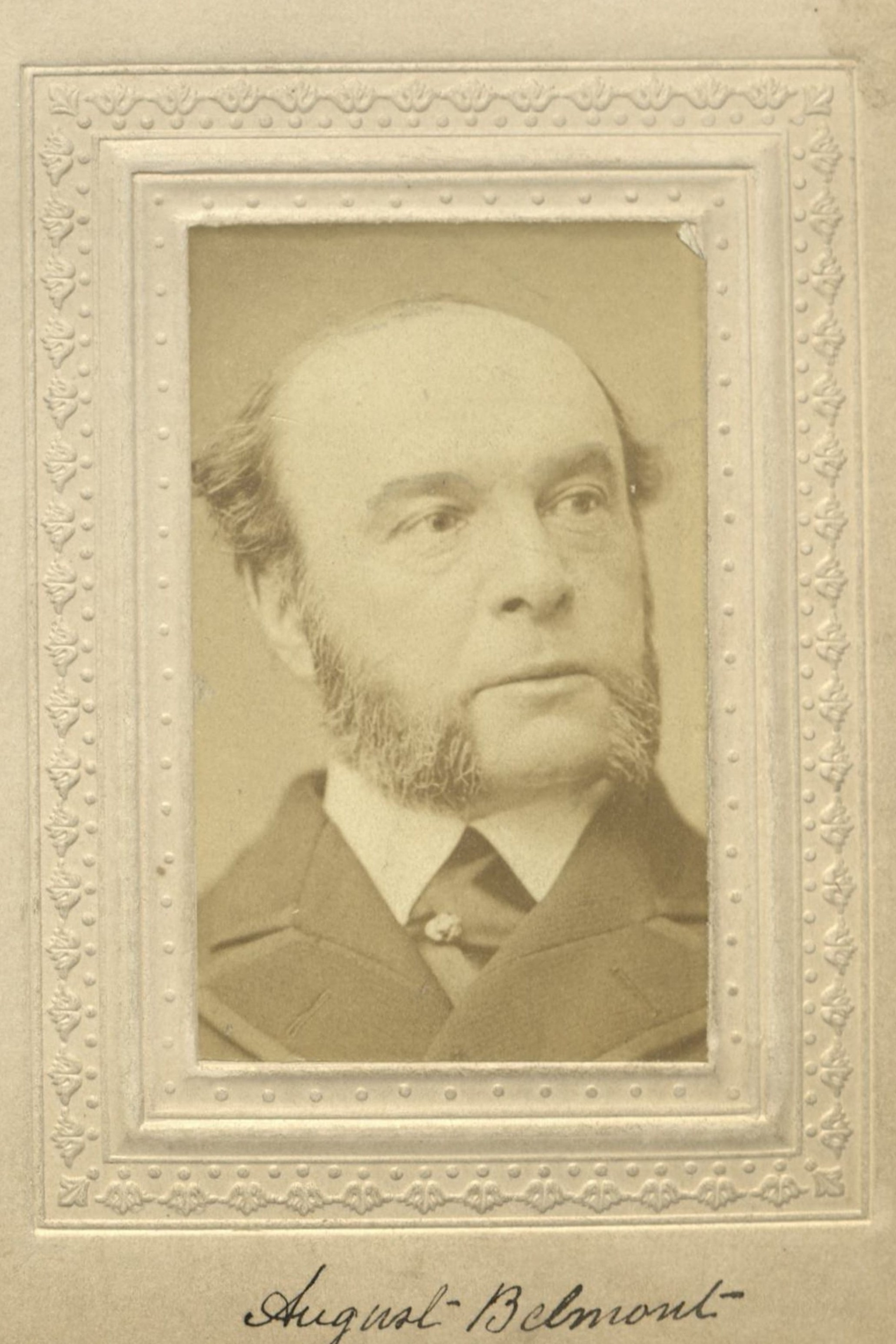 Member portrait of August Belmont