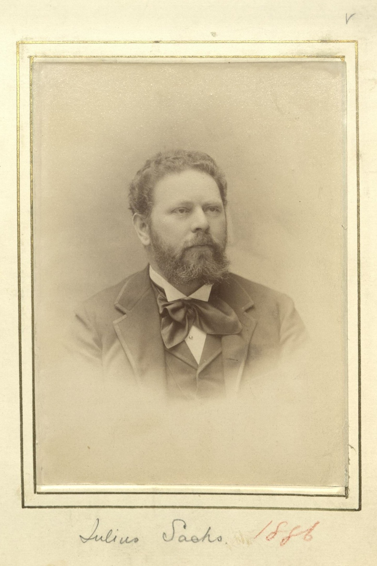 Member portrait of Julius Sachs