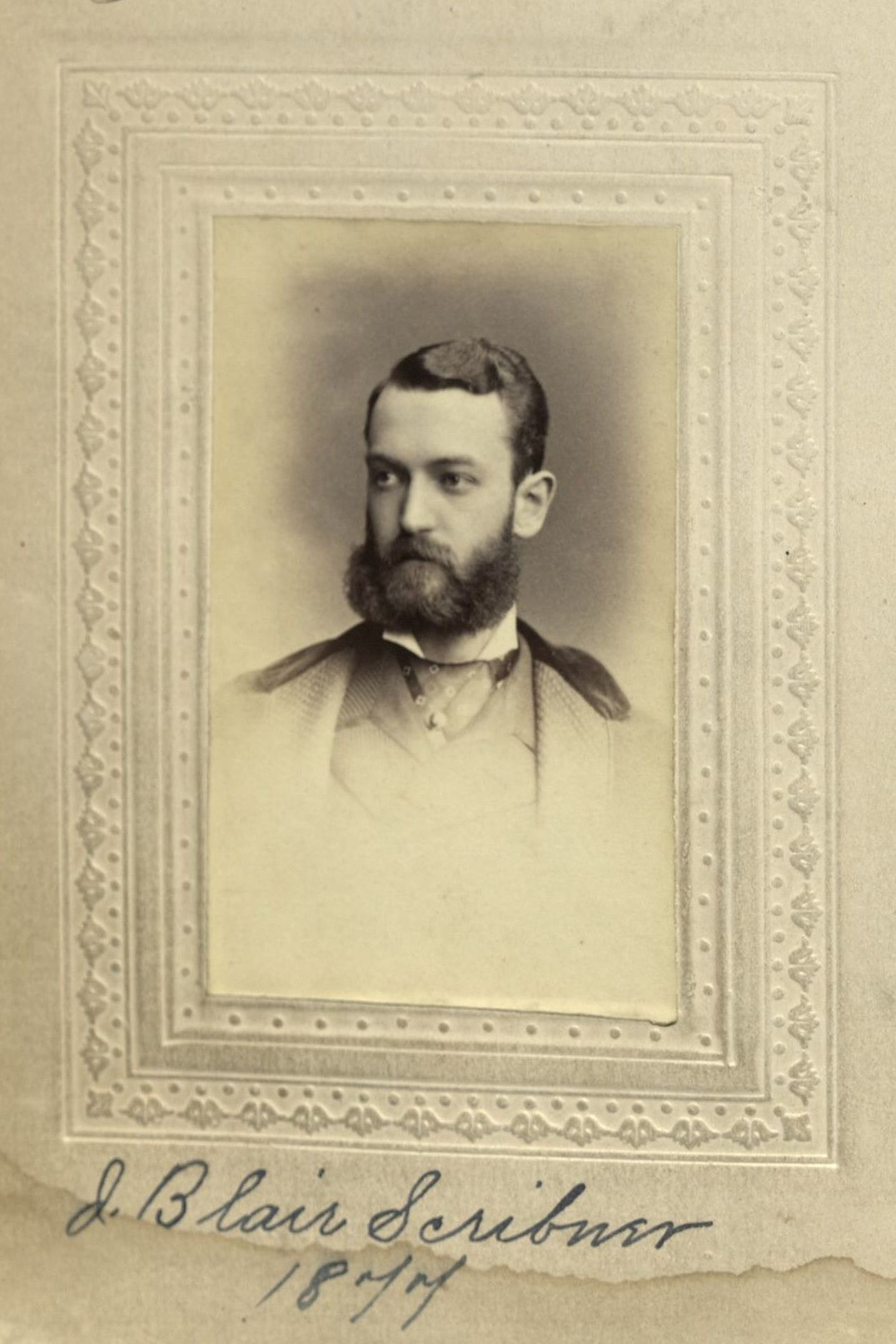 Member portrait of J. Blair Scribner