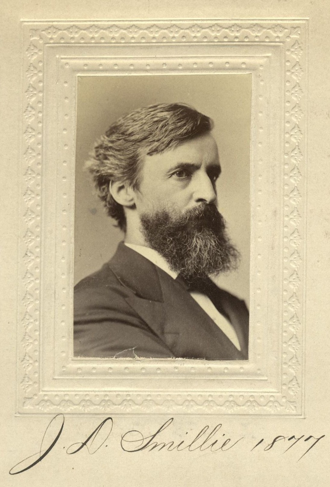Member portrait of James D. Smillie