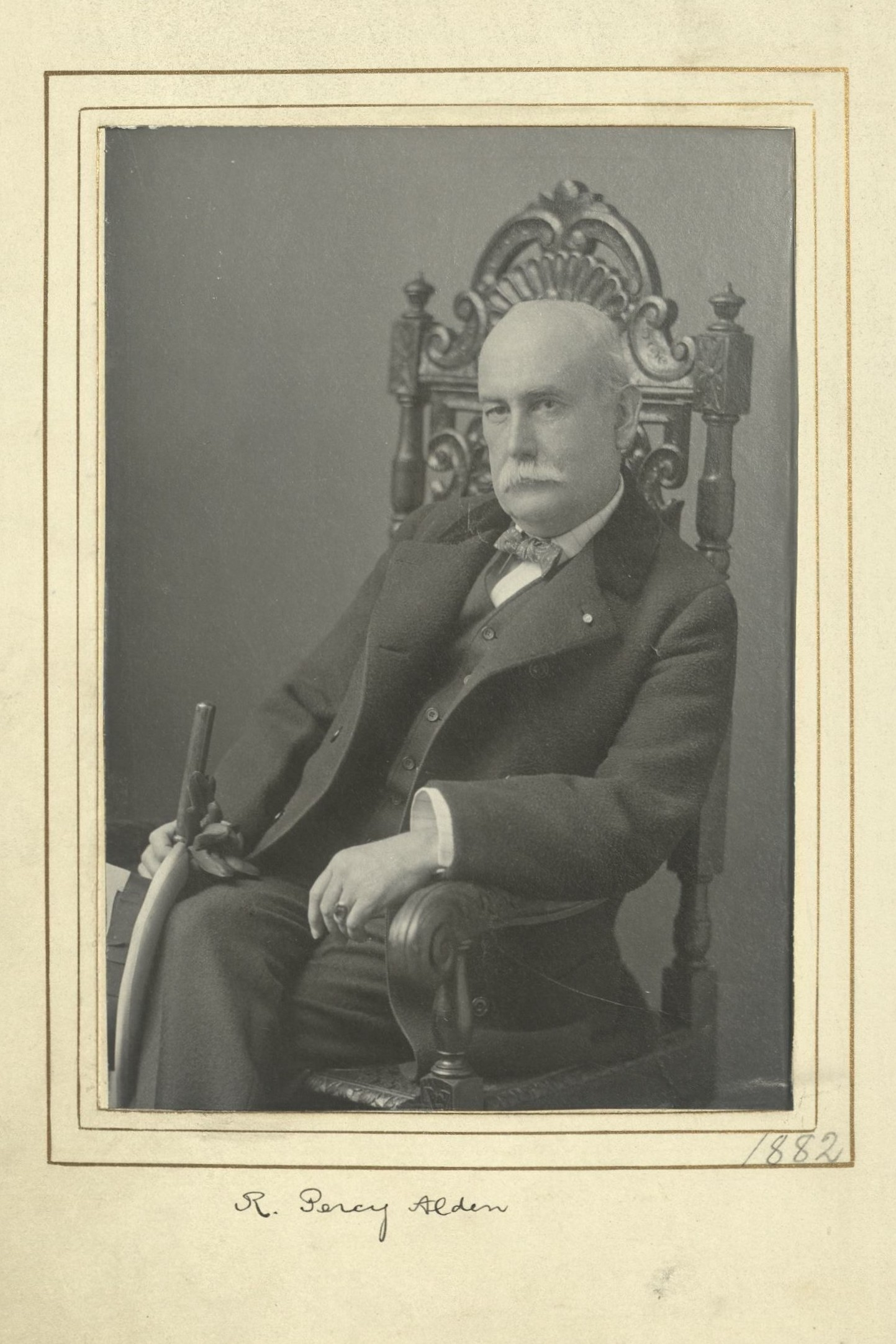 Member portrait of R. Percy Alden