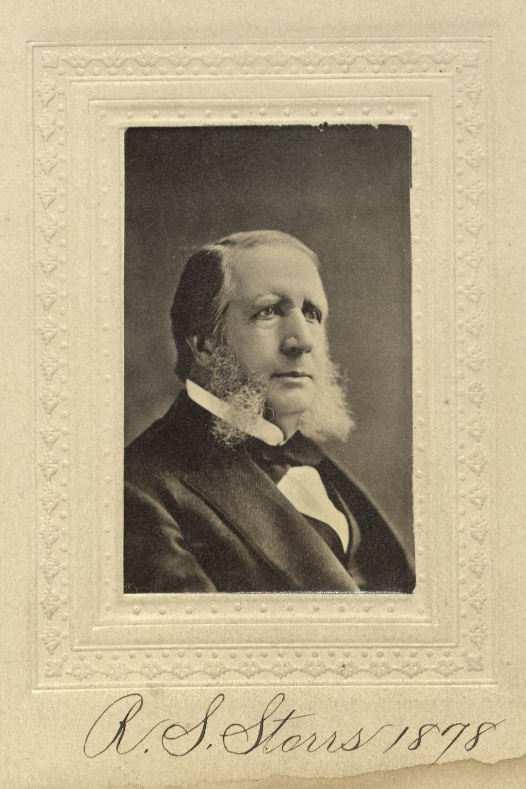 Member portrait of Richard S. Storrs