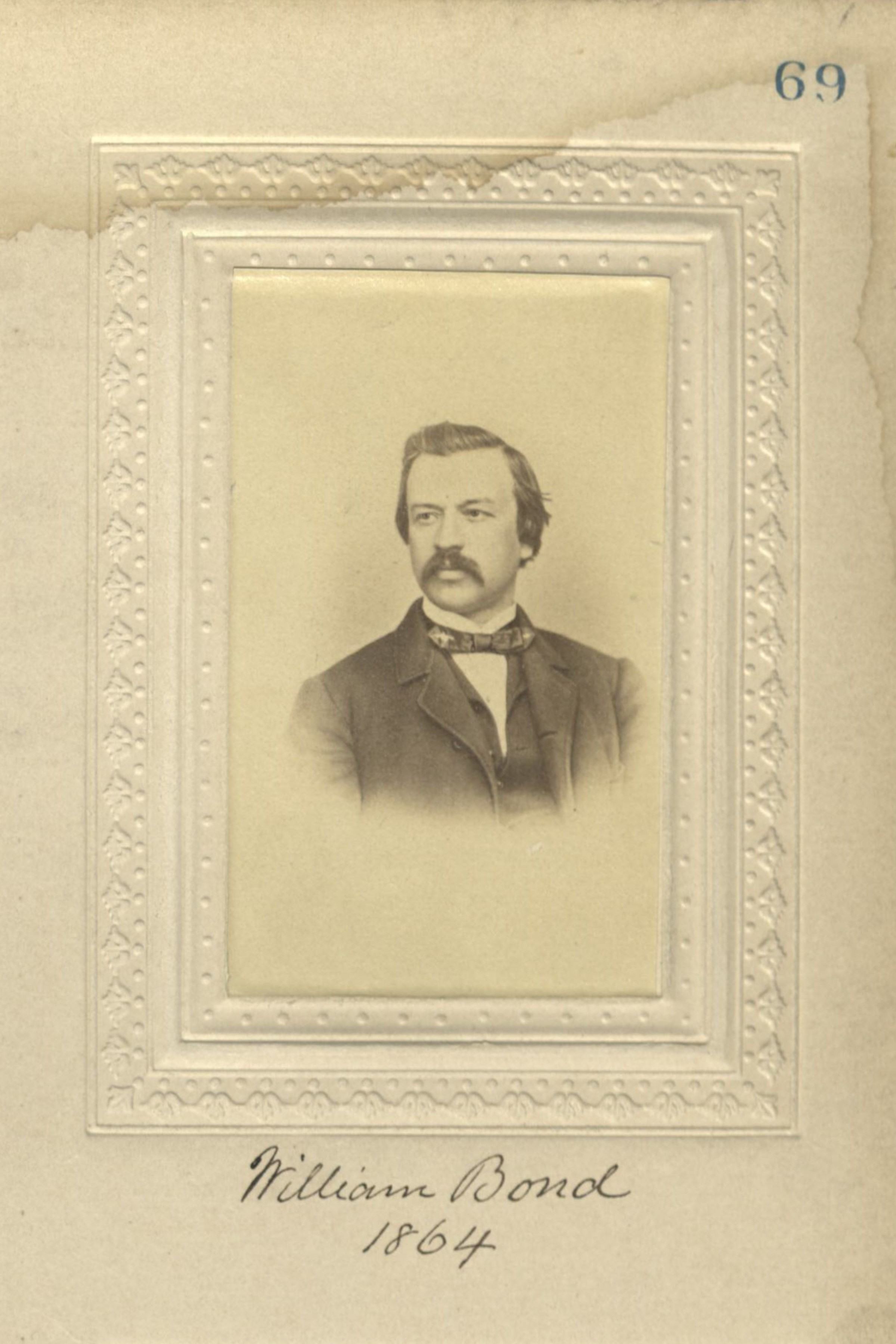 Member portrait of William Bond