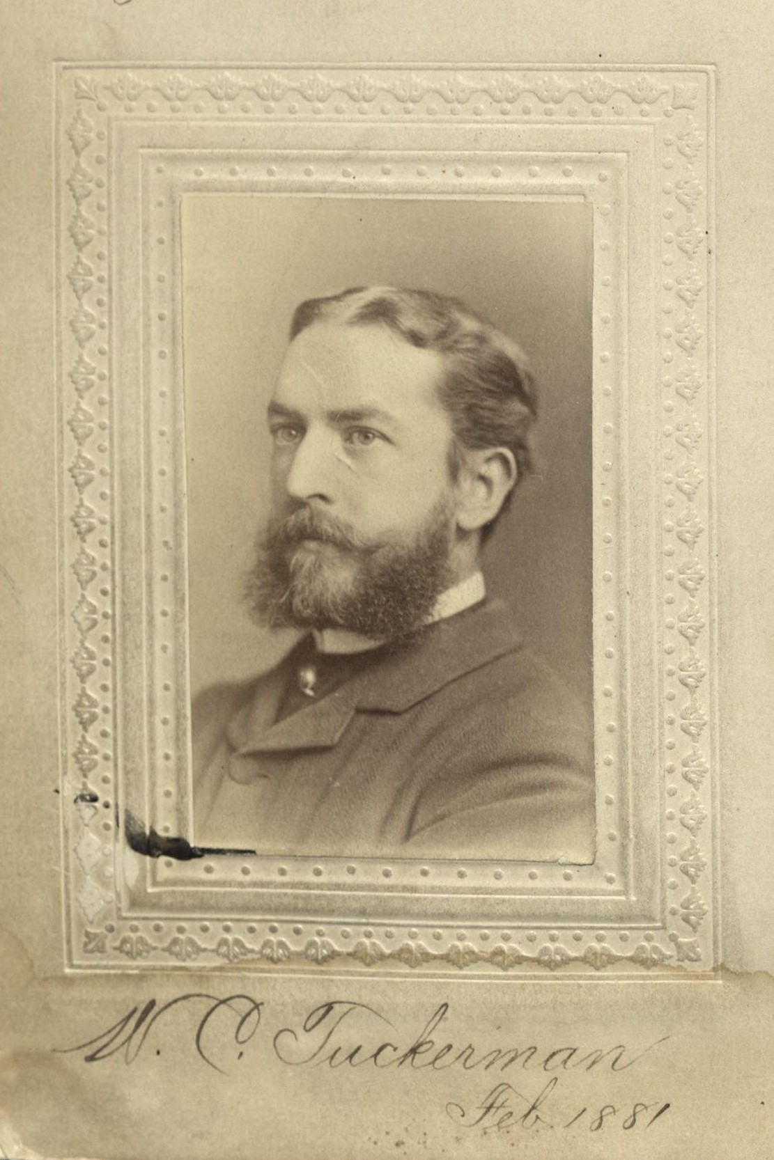 Member portrait of Walter C. Tuckerman