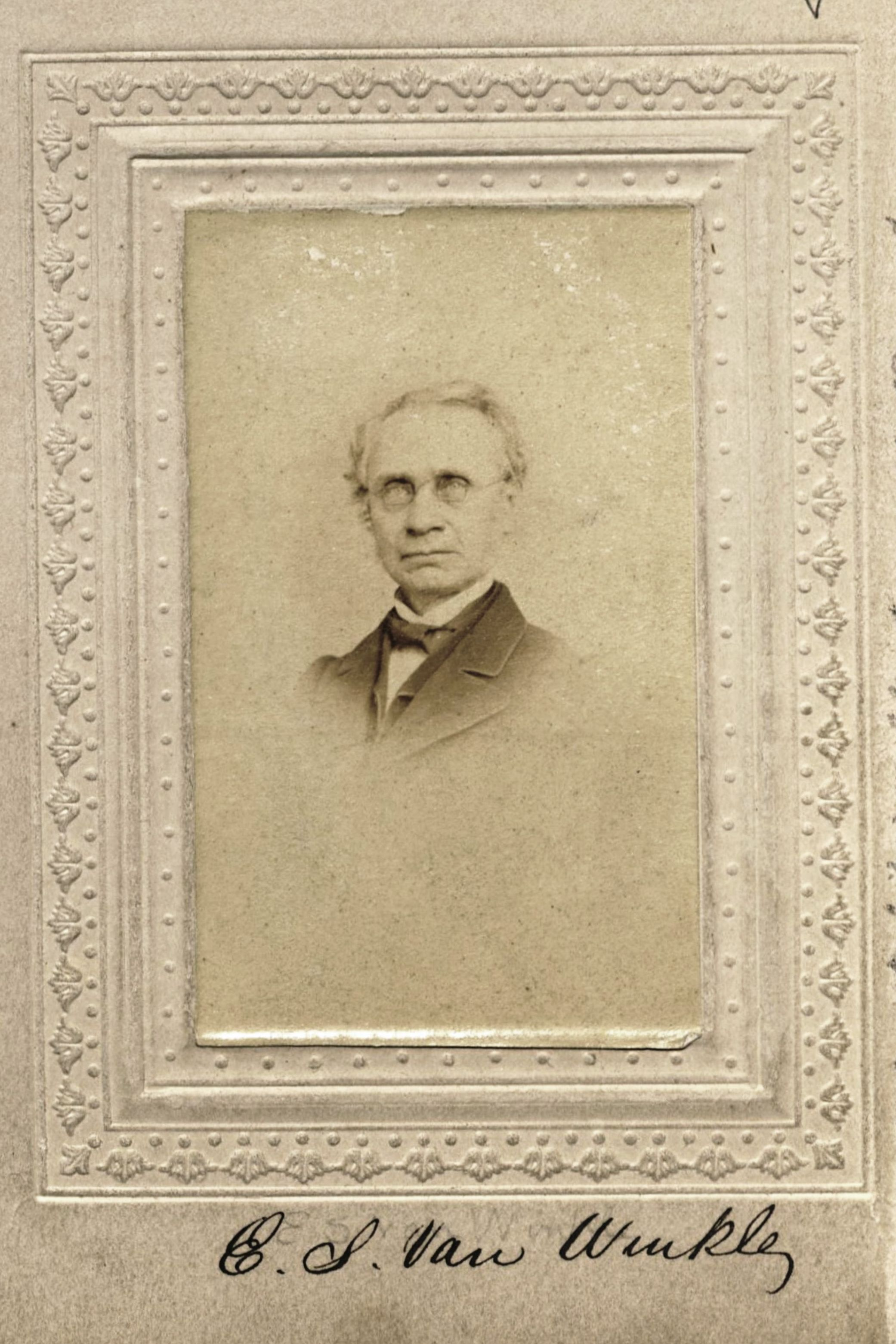 Member portrait of Edgar S. Van Winkle