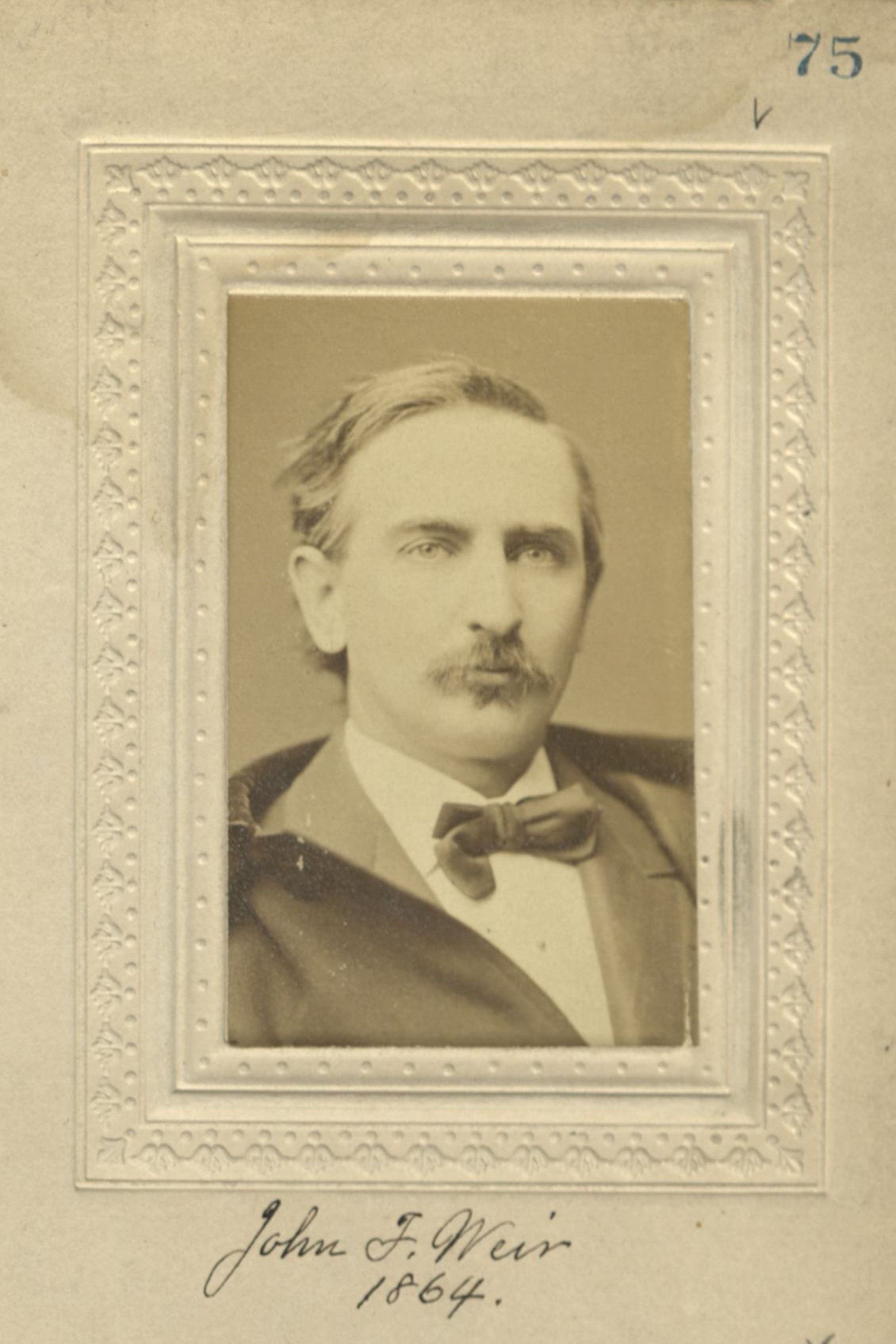 Member portrait of John F. Weir