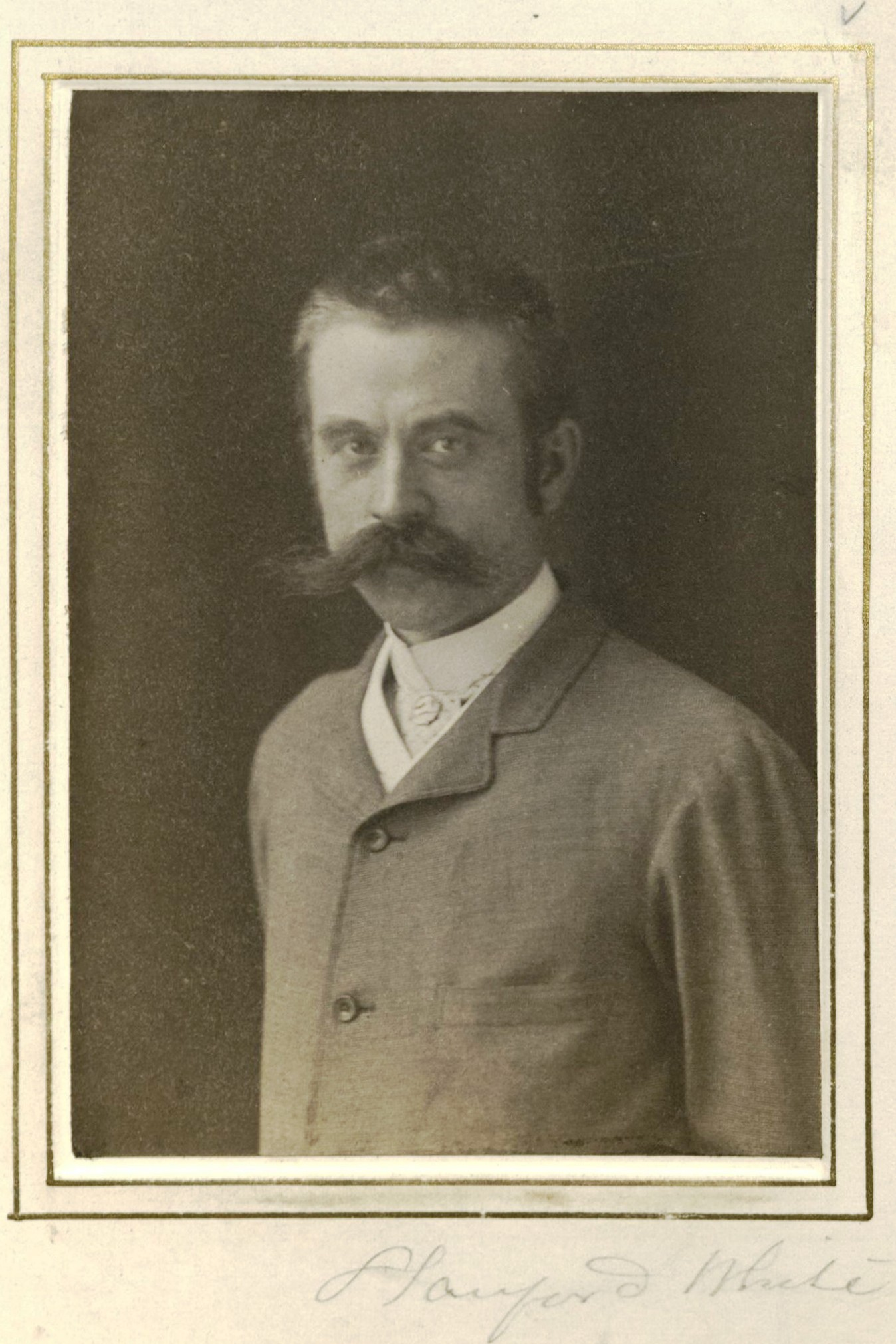 Member portrait of Stanford White