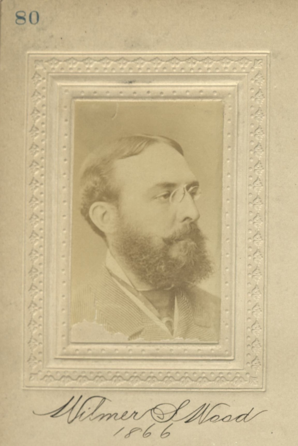 Member portrait of Wilmer S. Wood