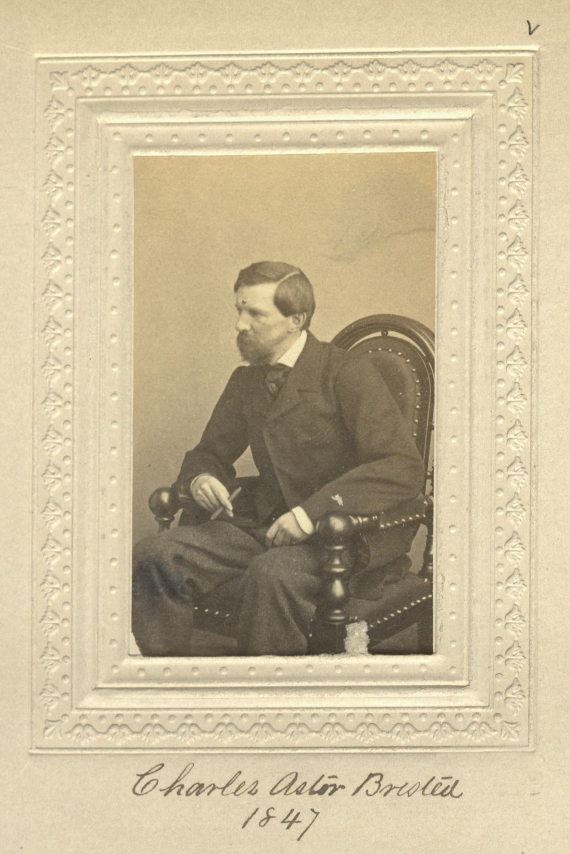 Member portrait of Charles A. Bristed